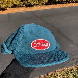 Stussy Ear Flap Cap polyester fleece